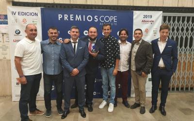 ACADEMIA ALBACER PREMIO CADENA COPE: JOVEN EMPRESA REVELACIÓN